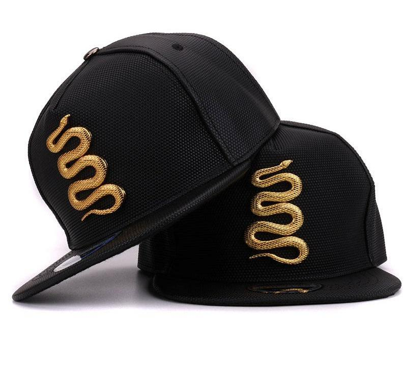626dfd99371 Golden Snake Leather Hats - Leather hats - Womens Hats - Club Lid.com