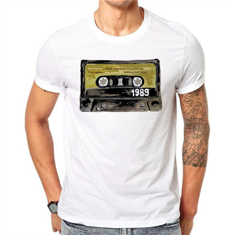 Nostalgic Tapes Design Men's T-shirt