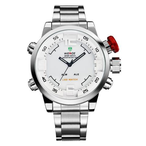 Men's Stainless Steel Sports Watches - Watches - Wristwatches - Timepieces - ClubLid.com