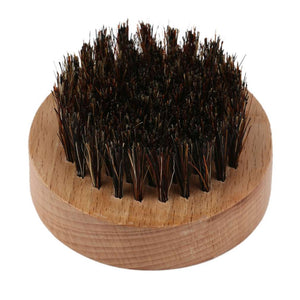Round Natural Boar Bristle Brush - KeepItPhresh.com
