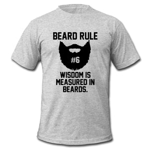 Men's Beard Rule #6 T-Shirt - KeepItPhresh.com