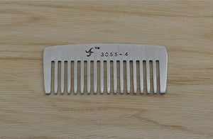 Anti Static Stainless Steel Beard Combs - KeepItPhresh.com