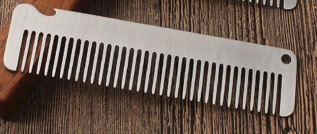 Anti Static, Stainless Steel Pocket Combs with Tools - KeepItPhresh.com