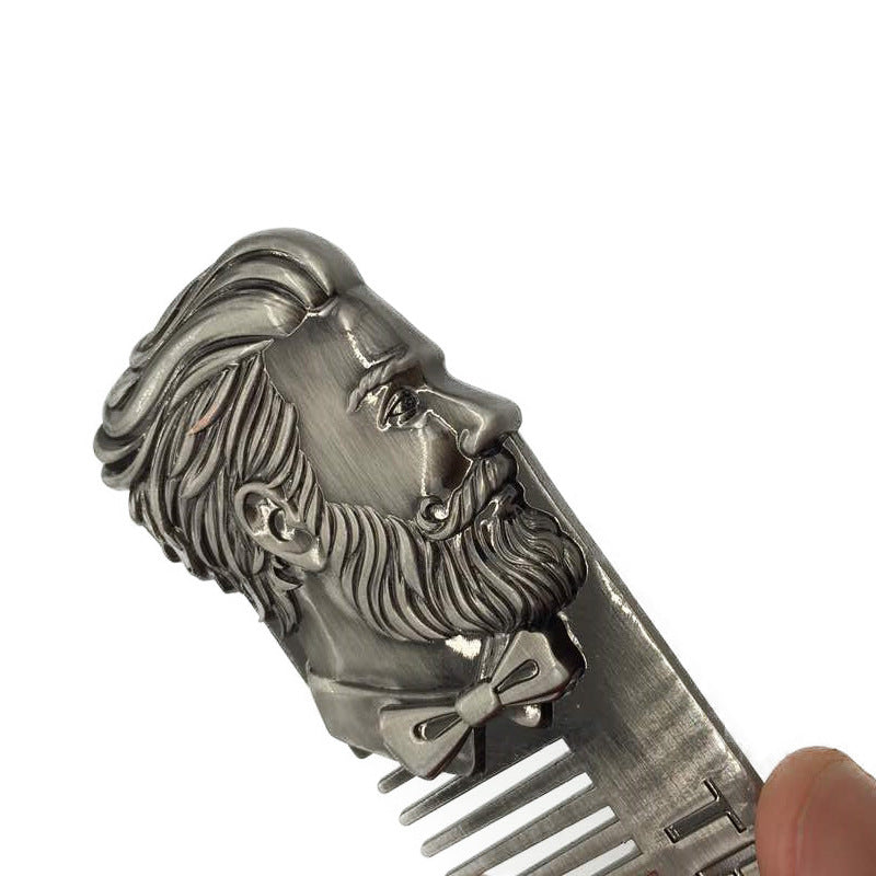 Big Beard Man Stainless Steel Comb - KeepItPhresh.com
