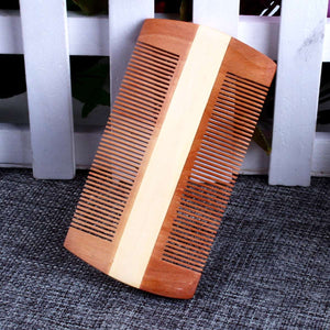 Handmade Double-Sided Wood Comb - KeepItPhresh.com