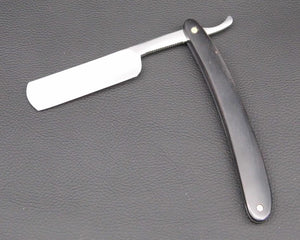 High Quality, Black Wood Handle, Hand Polished Carbon Steel Shaving Razor Blade - KeepItPhresh.com