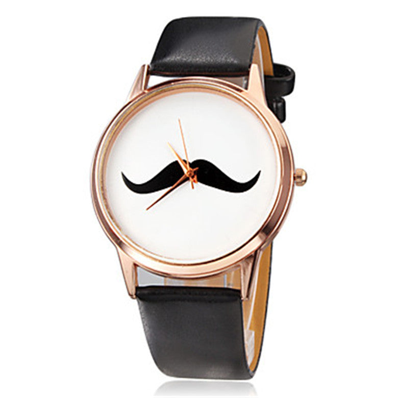Big Small Retro Mustache Ribbon for Him/Her