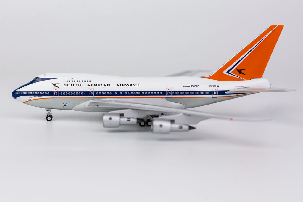 South African Airways Boeing 747SP ZS-SPF NG Model 07005 Scale 1:400