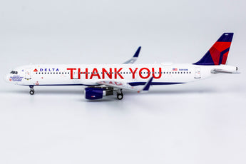 Delta Airbus A321 N391DN Thank You NG Model 13018 Scale 1:400