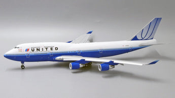 United Boeing 747-400 Flaps Down N199UA US Olympic Team JC Wings JC2UAL268A XX2268A Scale 1:200
