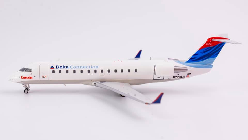 Delta Connection Bombardier CRJ100ER N779CA NG Model 52026 Scale 1:200