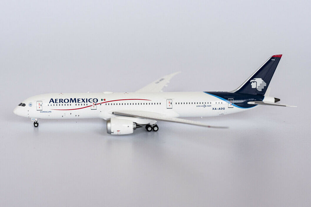 Aeromexico Boeing 787-9 XA-ADG NG Model 55048 Scale 1:400