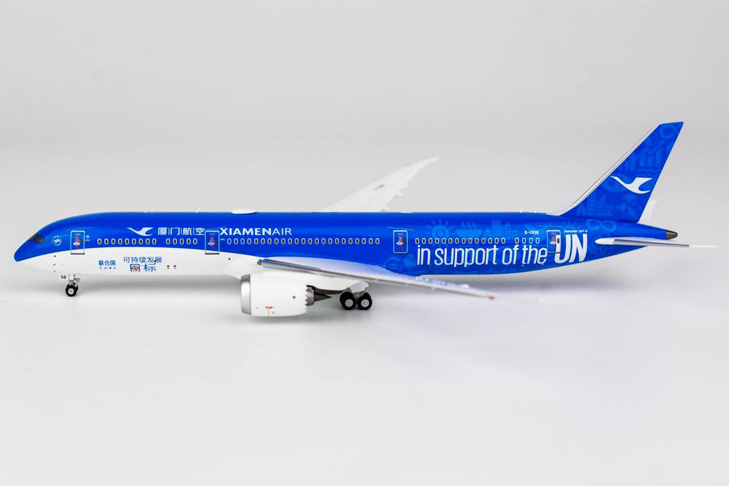 Xiamen Airlines Boeing 787-9 B-1356 Support UN NG Model 55052 Scale 1:400