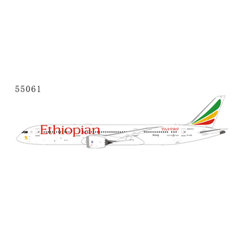 Ethiopian Airlines Boeing 787-9 ET-AUO NG Model 55061 Scale 1:400