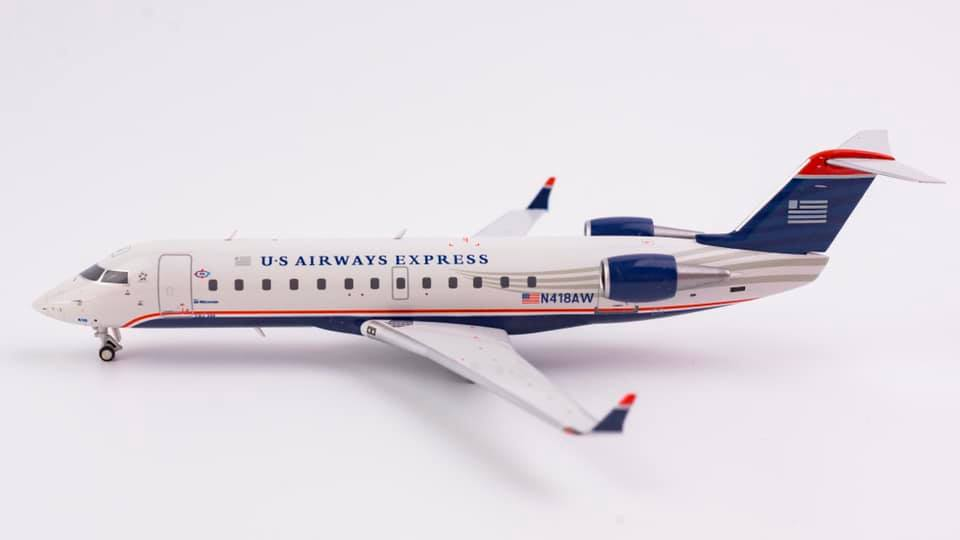 US Airways Express Bombardier CRJ200ER N418AW NG Model 52027 Scale 1:200