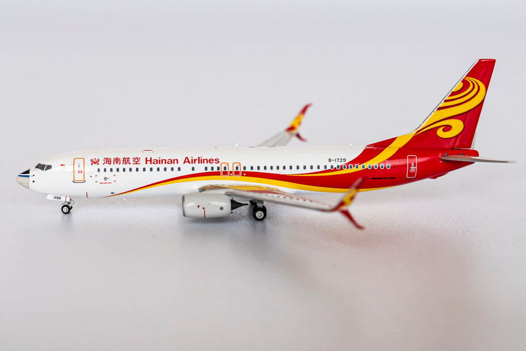 Hainan Airlines Boeing 737-800 B-1729 NG Model 58061 Scale 1:400