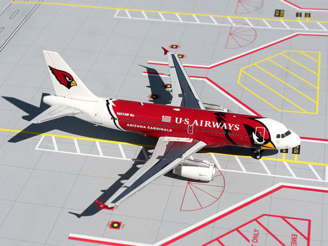 "US Airways Airbus A319 N837AW ""Arizona Cardinals"" GeminiJets G2USA055 Scale 1:200"