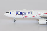 Malaysia Airlines Airbus A330-300 9M-MTE Negaraku One World NG Model 62016 Scale 1:400