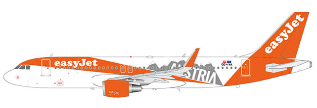 Easyjet Europe Airbus A320 OE-IVA Austria JC Wings EW2320004 Scale 1:200
