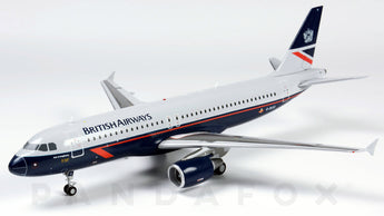 British Airways	Aibus A320 G-BUSI	Landor Retro Livery JC Wings EW2320006 Scale 1:200