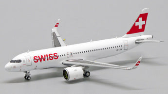 Swiss Airbus A320neo HB-JDB JC Wings EW432N002 Scale 1:400