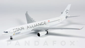 Singapore Airlines Airbus A330-300 9V-STU Star Alliance JC Wings EW4333002 Scale 1:400