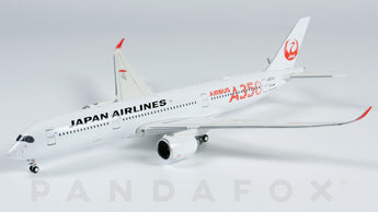 Japan Airlines Airbus A350-900 JA01XJ Red Titles JC Wings EW4359001 Scale 1:400
