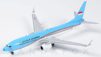 Indonesian Air Force Boeing 737-800 BBJ2 A-001 JC Wings EW4738001 Scale 1:400