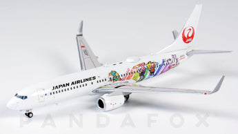 Japan Airlines Boeing 737-800 JA330J Shimajiro Jet JC Wings EW4738004 Scale 1:400