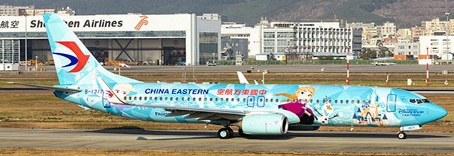 China Eastern Boeing 737-800 B-1317 Shanghai Disney Resort Frozen JC Wings EW4738010 Scale 1:400