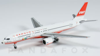 Far Eastern Air Transport Boeing 757-200 B-27021 ezfly JC Wings EW4752004 Scale 1:400