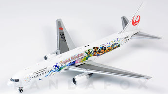 Japan Airlines Boeing 767-300ER JA612J Tokyo 35th Happiest Celebration JC Wings EW4763001 Scale 1:400
