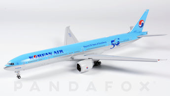 Korean Air Boeing 777-300ER Flaps Down HL8008 Beyond 50 Years of Excellence JC Wings EW477W002A Scale 1:400