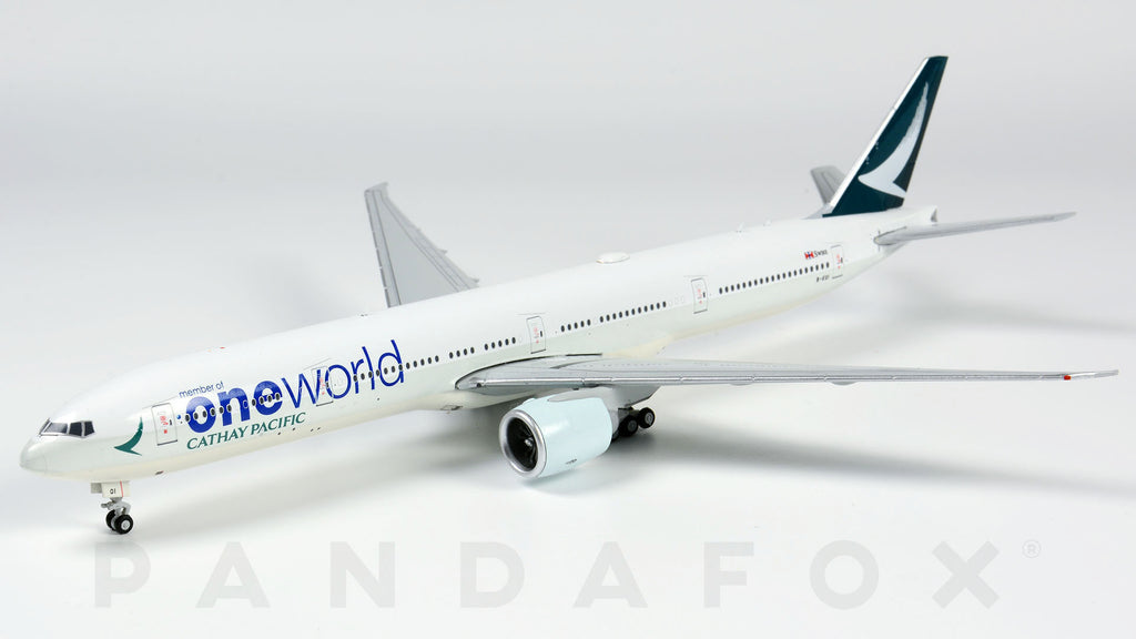 Cathay Pacific Boeing 777-300ER B-KQI One World JC Wings EW477W003 Scale 1:400