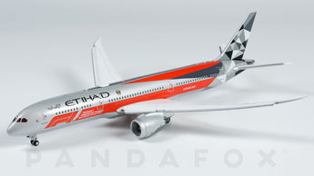 Etihad Airways Boeing 787-9 Flaps Down A6-BLV F1 2019 JC Wings EW4789002A Scale 1:400