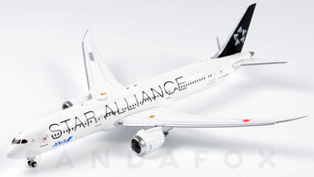 ANA Boeing 787-9 Flaps Down JA899A Star Alliance JC Wings EW4789003A Scale 1:400