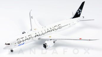 ANA Boeing 787-9 JA899A Star Alliance JC Wings EW4789003 Scale 1:400