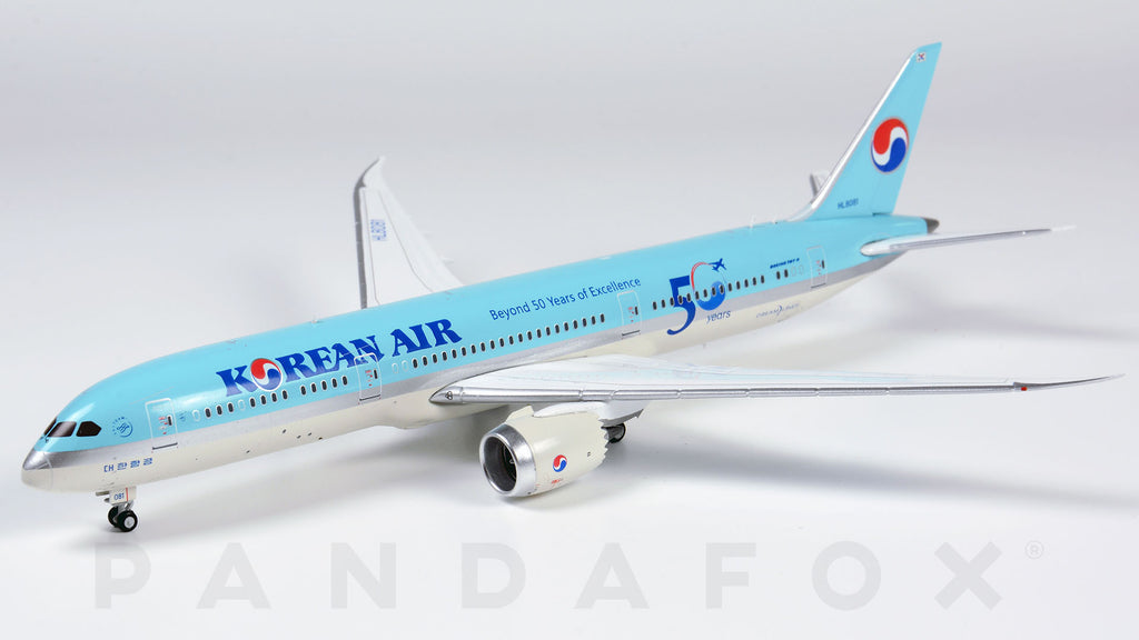 Korean Air Boeing 787-9 HL8081 50 Years of Excellence JC Wings EW4789004 Scale 1:400