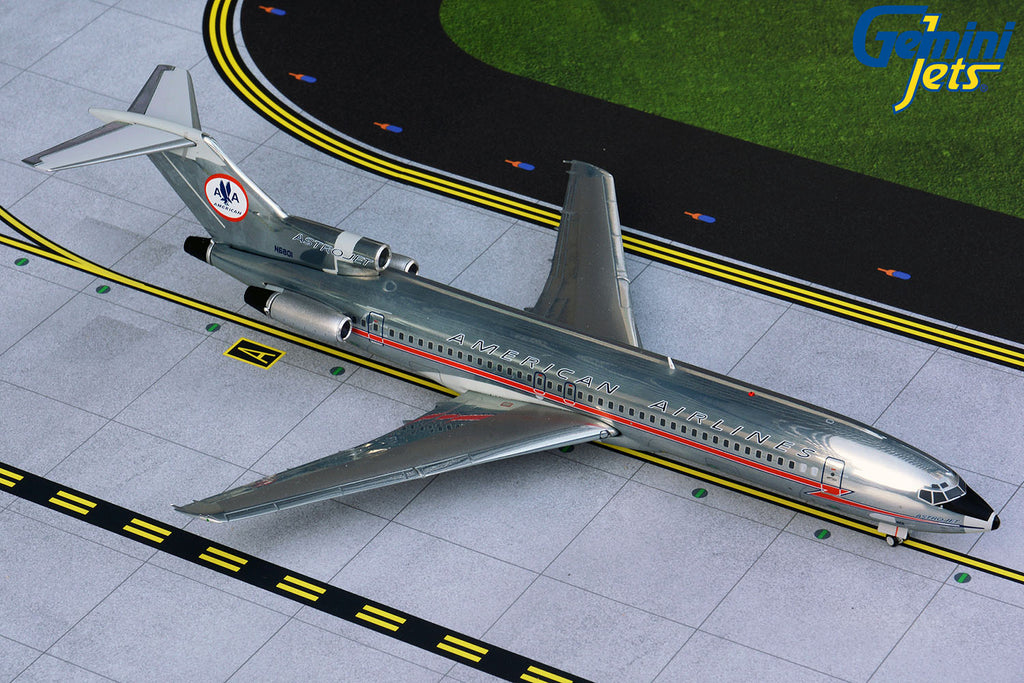 American Airlines Boeing 727-200 N6828 Astrojet GeminiJets G2AAL115 Scale 1:200