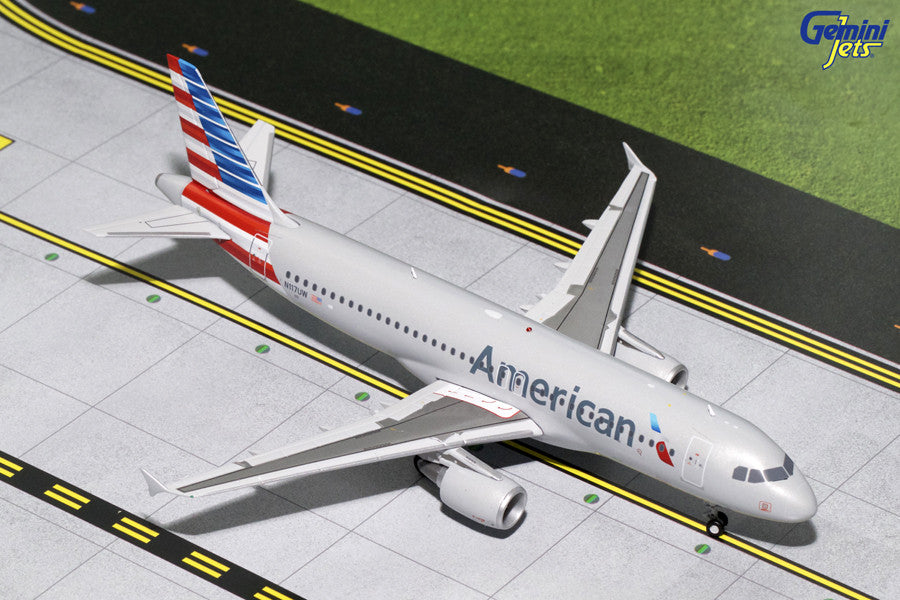American Airlines Airbus A320 N117UW GeminiJets G2AAL629 Scale 1:200