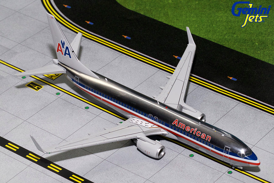 American Airlines Boeing 737-800 N921NN Polished GeminiJets G2AAL769 Scale 1:200