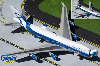 Air Bridge Cargo Boeing 747-400ERF Interactive VP-BIM GeminiJets G2ABW934 Scale 1:200