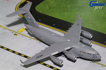 USAF Boeing C-17 10186 Dover AFB GeminiJets G2AFO694 Scale 1:200