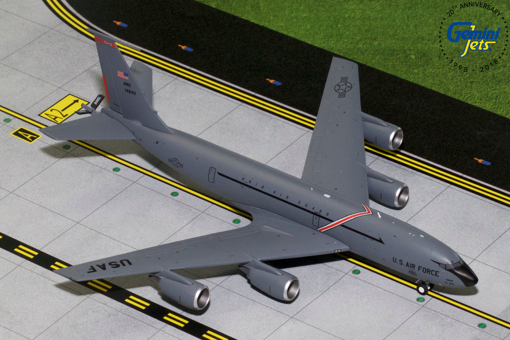 USAF Boeing KC-135R 64-14840 Ohio Air Guard GeminiJets G2AFO770 Scale 1:200