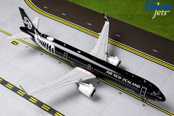 Air New Zealand Airbus A321neo ZK-NNA All Blacks GeminiJets G2ANZ801 Scale 1:200