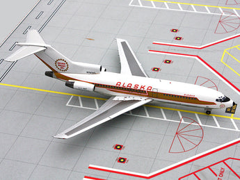 "Alaska Airlines Boeing 727-100 N797AS ""Golden Nugget"" GeminiJets G2ASA261 Scale 1:200"