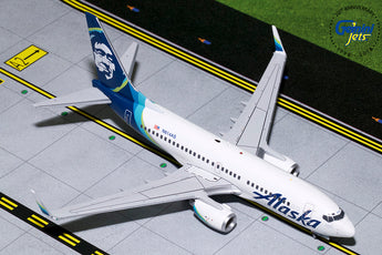 Alaska Airlines Boeing 737-700 N614AS GeminiJets G2ASA778 Scale 1:200
