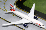 British Airways Boeing 787-8 G-ZBJC GeminiJets G2BAW542 Scale 1:200