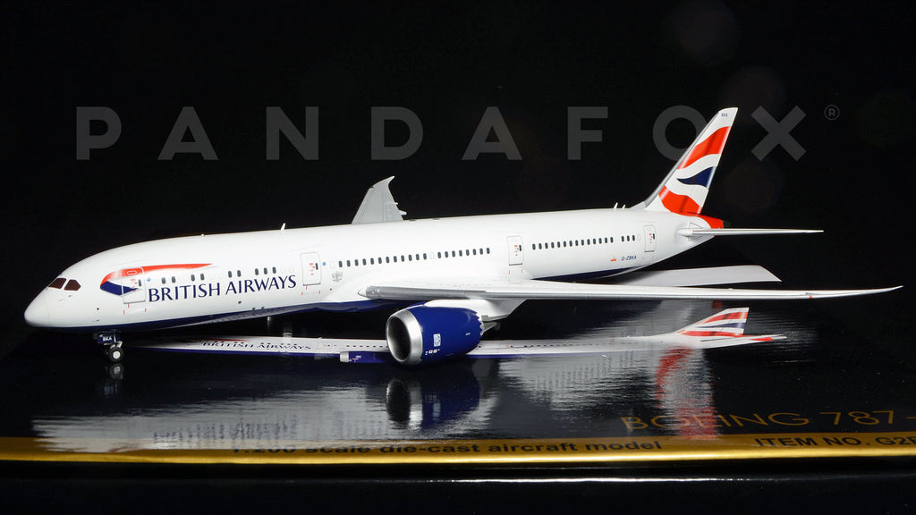 British Airways Boeing 787-9 G-ZBKA GeminiJets G2BAW544 Scale 1:200
