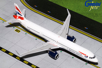 British Airways Airbus A321neo G-NEOP GeminiJets G2BAW802 Scale 1:200